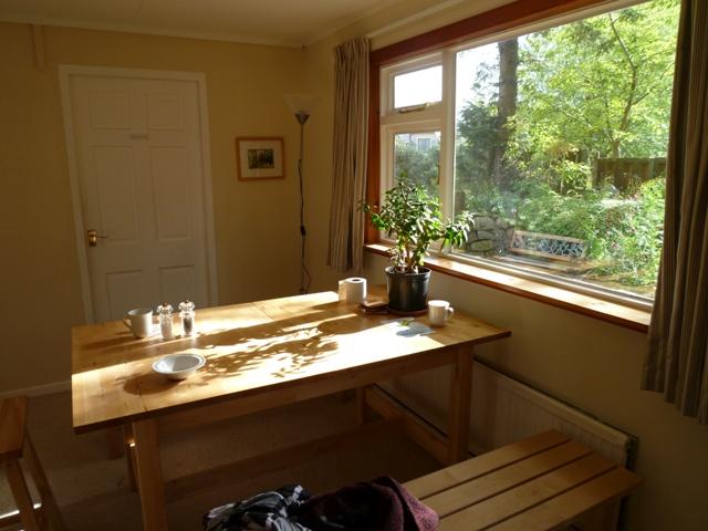 在生態村中平靜的家居生活。