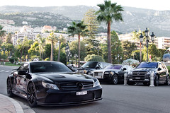Black. (Alex Penfold) Tags: auto camera black france cars alex sports car sport mobile canon french photography eos mercedes benz photo cool flickr riviera