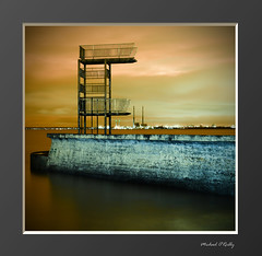 Forgotten (Mick O'Reilly) Tags: longexposure ireland dublin night lowlight baths canon5d seafront  blackrock  dunlaoghaire   pigonhouse