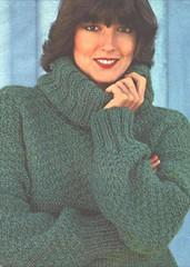 HEAVY wool Turtleneck (Mytwist) Tags: woman wool lady sweater jumper turtleneck milf rollneck