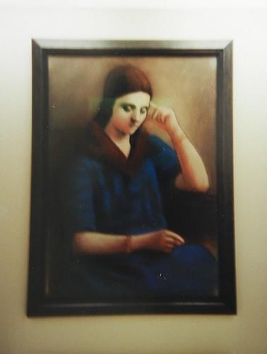 Olga pensive, 1923, 1933 - Pablo Picasso, Musée national Picasso, Paris