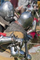 Foot Tournament - Battle of Wisby 1361 (arkland_swe) Tags: horse history sweden slag helmet medieval knights armor sword gotland visby spear fullcontact reinactment rustning svrd medeltid hjlm spjut battleofwisby1361 foottournament