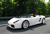 summer feelings (Keno Zache) Tags: tree car canon photography eos highway photoshoot autobahn automotive spyder topless panning lamborghini 18200 rolling tracking gallardo 1100 roadster mitzieher keno sportwagen 400d zache cartocar