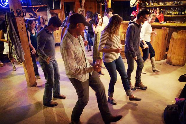 Black Mountain Colorado Dude Ranch line dance dancing