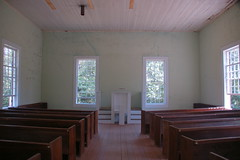 Old Pickens Presbyterian Interior