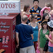 The Photo Booth was a popular attraction during the Campus Crawl activities.