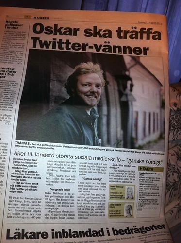 Jag i Gotlands Tidningar