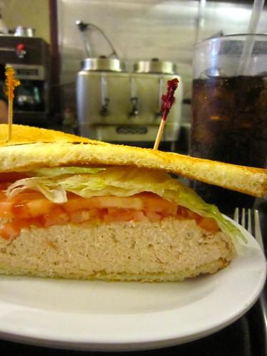 Eisenberg's Sandwich Shop Tuna Sandwich