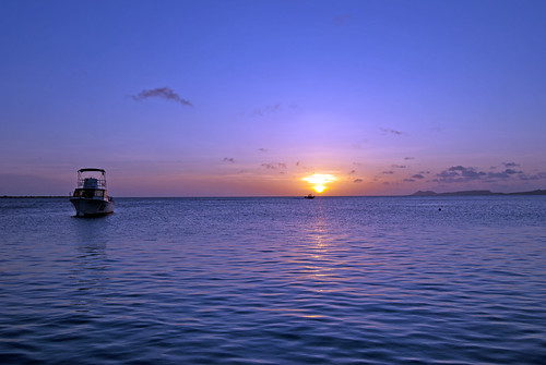 Sunset on Bonaire 2 15.8.11 by actor212