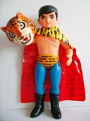 Tiger Mask (organic_addict) Tags: vintage flying mask tiger attack human nakajima yonezawa