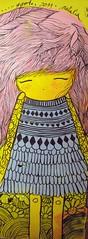 (alterna ) Tags: chile santiago muro girl rosa nia agosto lolita natalia boba graff dibujo muralla pelo ilustracion joven pieza alterna alternativa 2011 superboba alternaboba