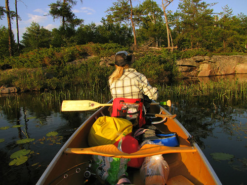 Canoeing on the French River (Dokis), Ontario, July 03-08, 2011
