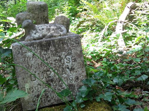 Infant Grave, Sliding Down Hillside