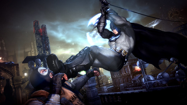 Arkham City interview at gamescom