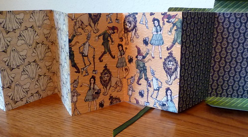 Halloween Oz Memory Box Pages