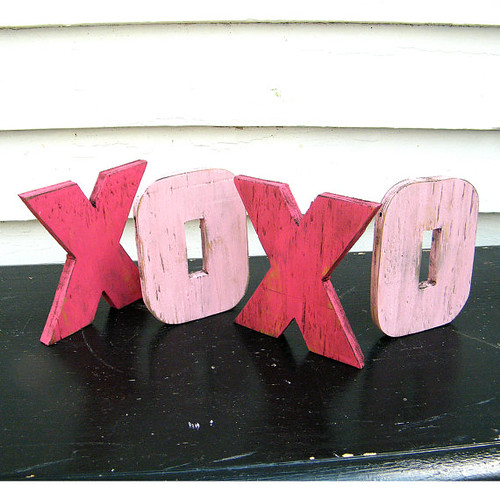 XOXO Wooden Letters from SlippinSouthern