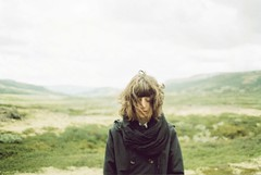 (heddaselder) Tags: wild summer portrait selfportrait green film nature girl norway analog hair wind hedda mm 135 scandinavia an