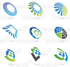 Shapes in Perspective (Cidepix.com) Tags: blue abstract black reflection tree green sign set modern illustration emblem circle logo idea design shiny aqua graphic symbol drawing geometry web stripe shell style icon line collection glossy whitebackground sphere round geometrical elegant curve shape 2d vector logos isolated element rectangular pushbuttons cidepix
