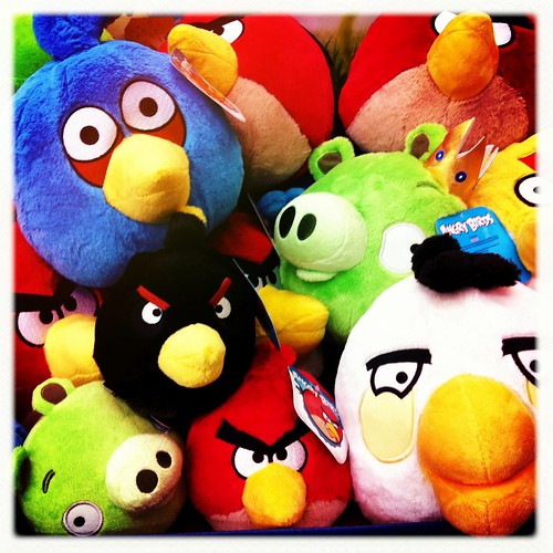 56/365- Angry birds. by elineart