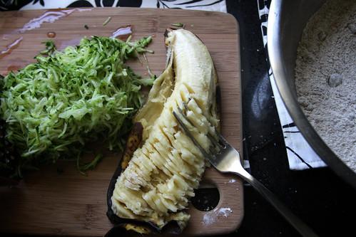 zucchini & banana