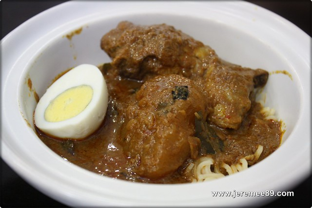 Kopitan @ Logan Heritage - Home Made Curry Chicken Maggie Mee