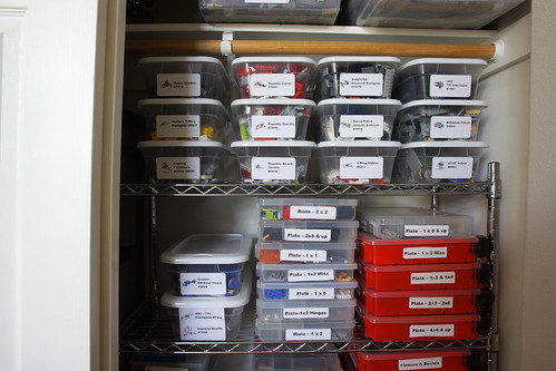 Lego Storage: Sets and Parts