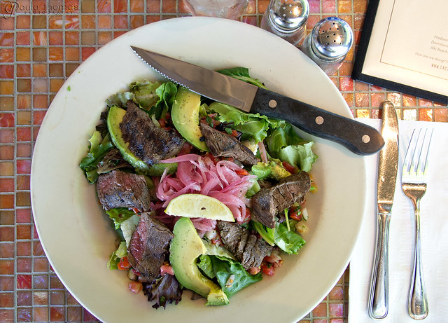 Cactus Grilled Skirt Steak Salad