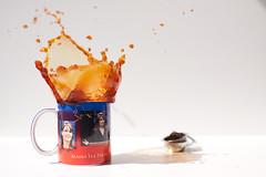 tea & party (dongga BS) Tags: sarah drops tea splash tee teaparty palin splish alska frozenmoment spritzer sarahpalin canoneos50d ef35mmf14lusm