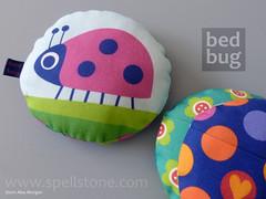 "BedBug ""Bo' and friends (Spellstone) Tags: santa art bug toy design bed artist child craft textile fabric plushie ladybird ladybug kit secrets toothfairy spellstone"