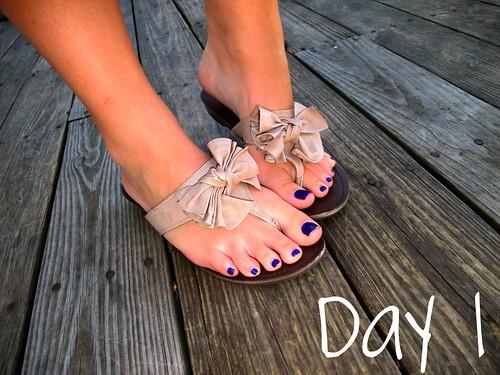 Livingaftermidnite - 30 Day Shoe Challenge Day 1