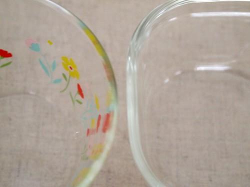 パイレックス ガラス保存容器 比較