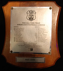 Paul Lowe All-AFL Team Trophy