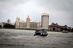Apollo Bunder (pankaj.anand) Tags: new sea mumbai gatewayofindia tajhotel seaface colaba ferryride newtajhotel appollobunder
