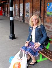 Sally - Sutton Coldfield Station - 20110811_IMG_0181 (Sally Payne) Tags: sally