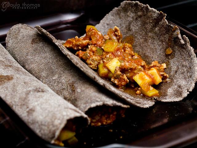 Buckwheat Enchilada Prep