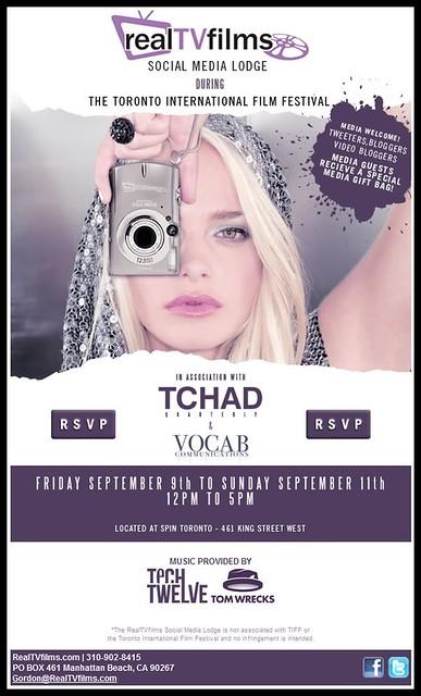 Social Media Lodge Invite, TIFF 2011
