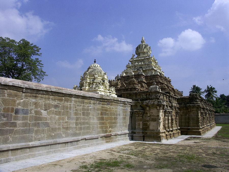 Храм Вайкунта Перумал, Канчипурам, Тамил Наду © Kartzon Dream - авторские путешествия, авторские туры в Индию, тревел видео, фототуры