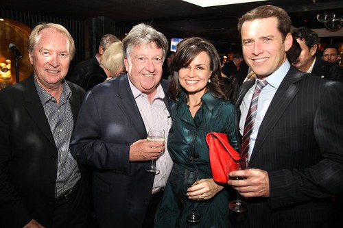 "Richard Wilkins friends and colleagues attend his new book launch ""Black Ties, Red Carpets, Green Rooms"""