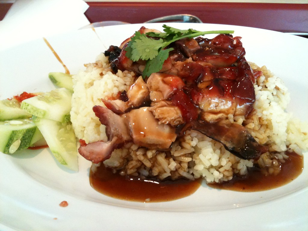 Chicken Rice At KLCC Signature Food Court