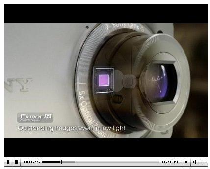 Sony DSC-WX1 promotional video