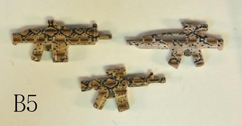 Custom minifig Snakeskin Camo - B5