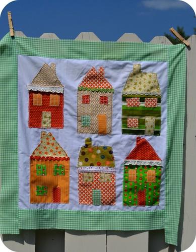 harvest quilt square