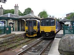 150149 Knaresborough (Beer today, red wine tomorrow.....) Tags: dmu class150 uk railway 150149 northernrail knaresborough