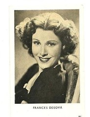 FRANCES DEE (addie65) Tags: hollywoodland classicfilm fanphoto classichollywood francesdee fancard deceasedactors