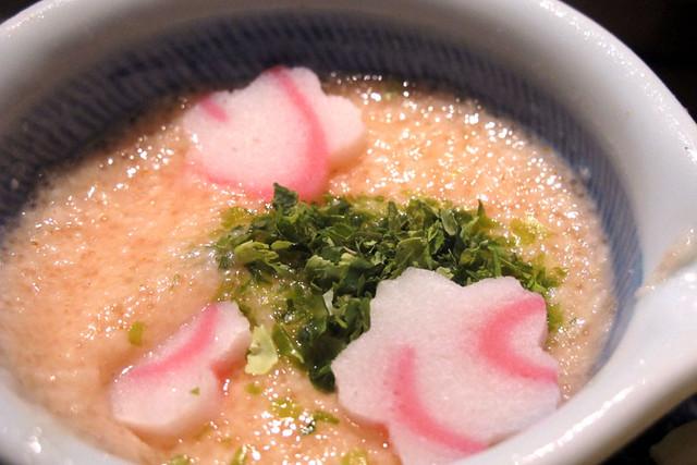 110409_172722_中目黒_三矢製麺所_桜のつけ麺
