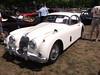 1957 Jaguar XK150 FHC (Fixed Head Coupe) (cjp02) Tags: show classic car vintage indiana days british motor zionsville fujipix av200 cjp02 1957jaguarxk150fhcfixedheadcoupeindy