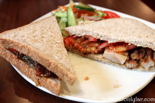 Mediterranean Chicken & Tomato Sandwich, The Food of Love