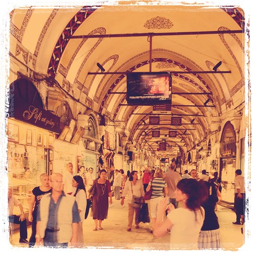 Entering the Grand Bazaar #granbazaar #istanbul