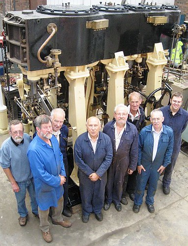 """Sandchime 2"" engine & restoration volunteers"