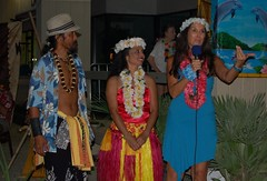 BowWowTrishNadineSunny (AdoptAnAngelRescue) Tags: wow luau bow 2011
